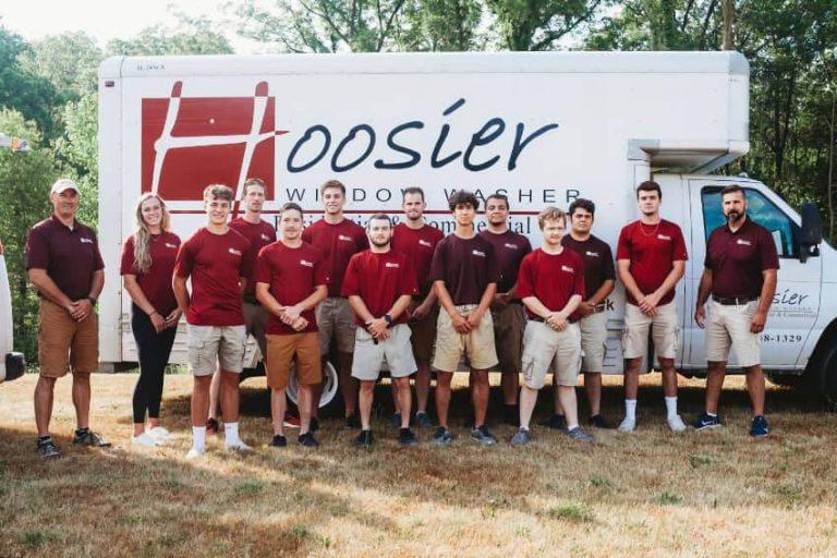 Hoosier Window Washer Team