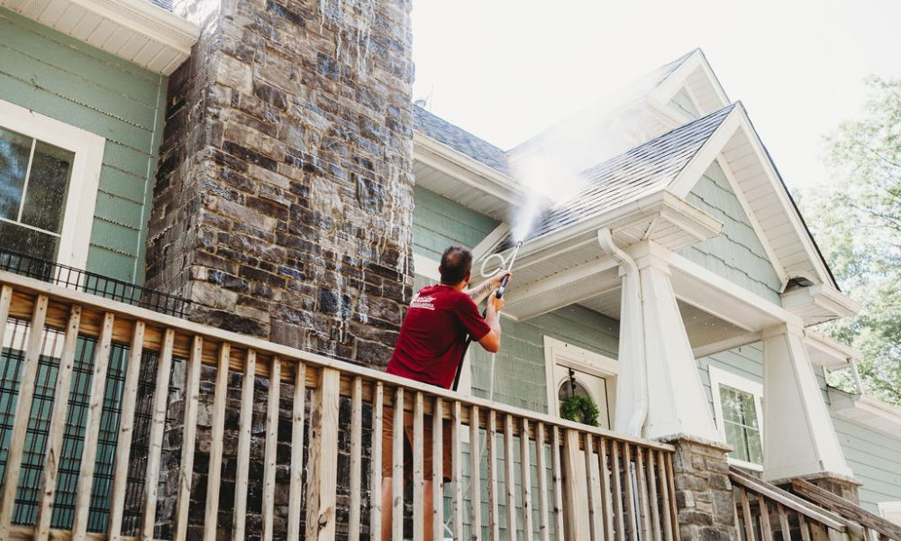 House Roof Washing