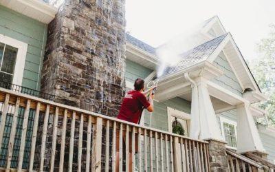 House Roof Washing